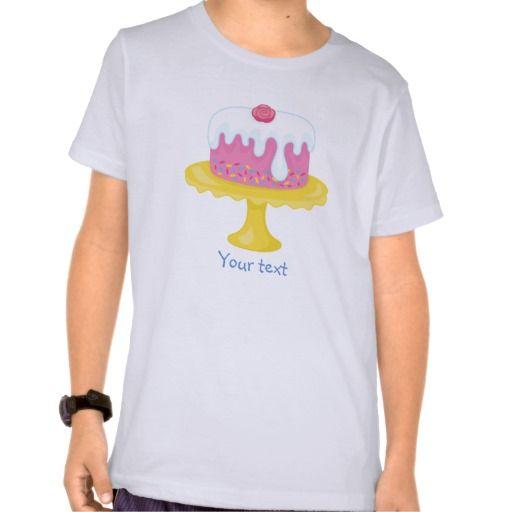 Girl's Pink Cupcake Wars Baking Birthday Party Shirt