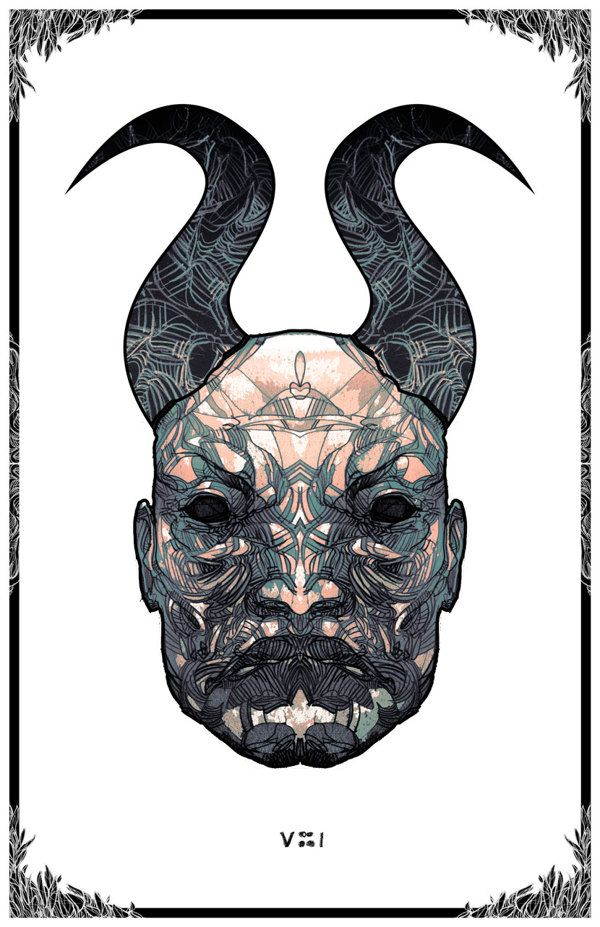 The Horned Beings on Behance