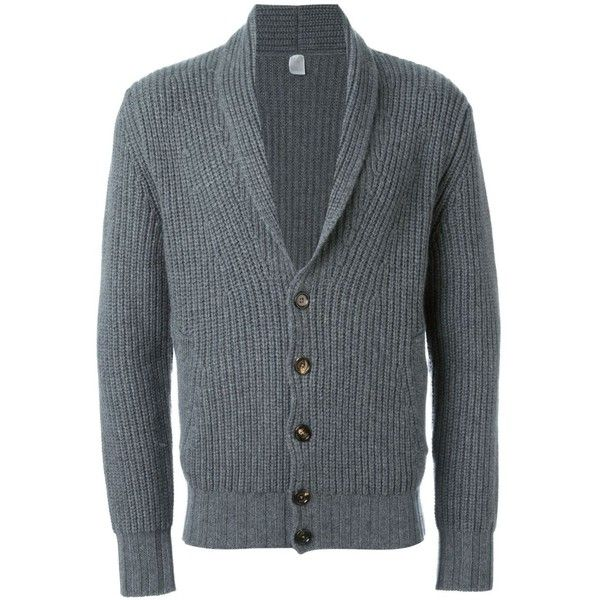 Eleventy shawl collar cardigan ($755) ❤ liked on Polyvore featuring men's fashion, men's clothing, men's sweaters, grey, mens cashmere cardigan sweater, mens cardigan sweaters, mens grey sweater, mens shawl collar cardigan sweater and mens shawl collar sweater
