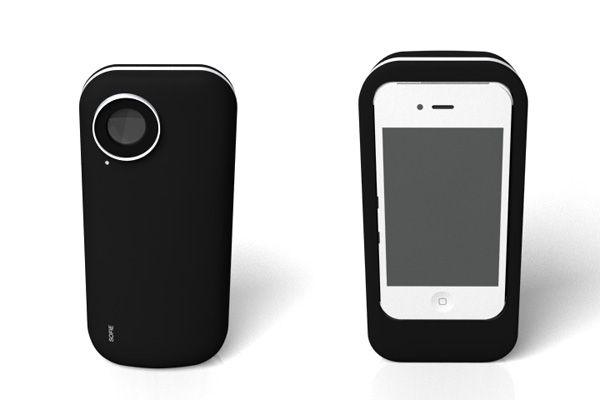 iPhone case that prints pictures out like a Polaroid