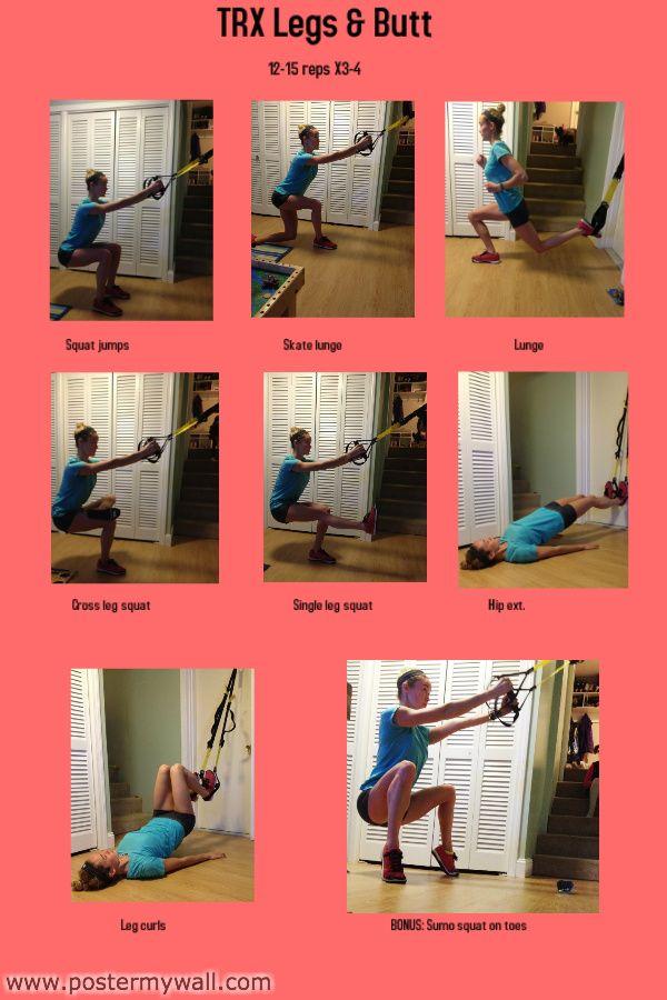 TRX Legs & Butt - Swell-Fitness