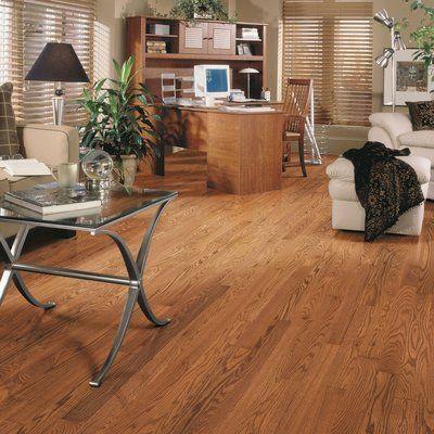 """Mohawk Randhurst SWF 3-1/4"""" Solid Oak Hardwood Flooring in Butterscotch"""