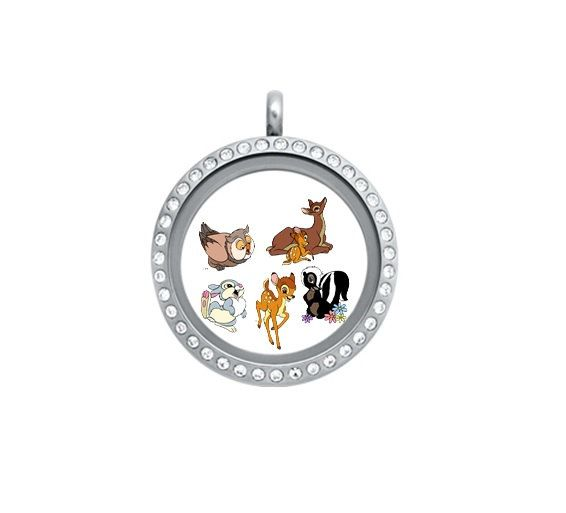 Origami Owl & Misc Brand Disney Bambi Floating by