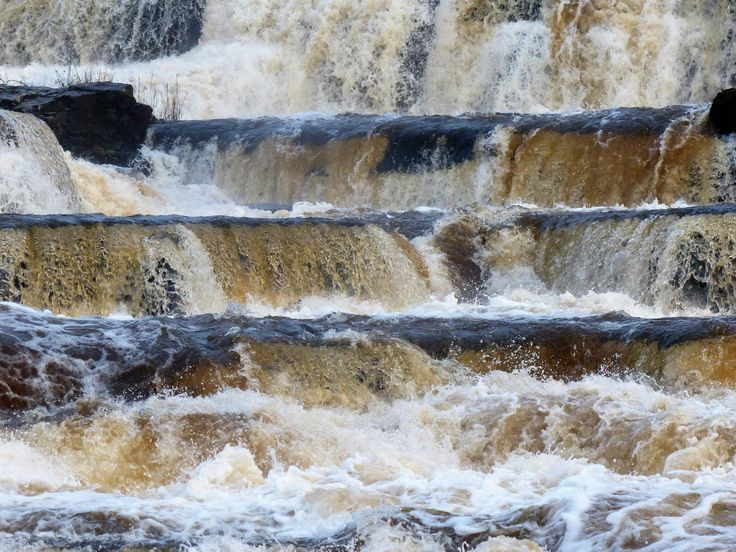 Co. Clare: The Falls, Ennistymon.