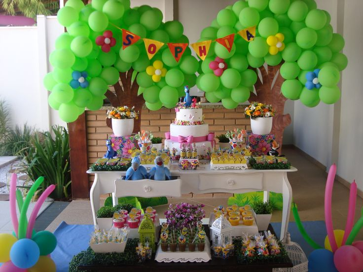 Rio de janeiro carnaval brazil theme party decor ideas for Decoration carnaval