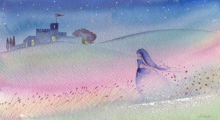 al castello watercolor