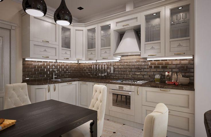 Кухни бордовые фото дизайн