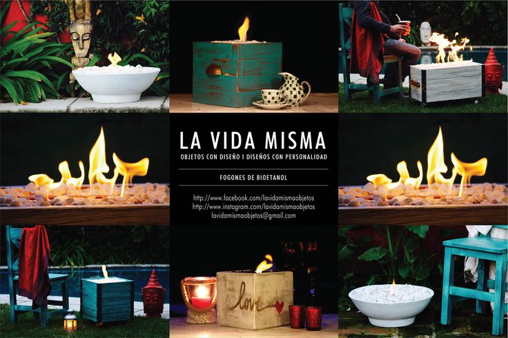 Dejate cautivar por el hipnotizador movimiento del fuego #fogonesdebioetanol #vivigood #diseño #eventos #casamientos #bodas #regalo #home #love #deco #ambientaciones #relax #inspiración #arte #amor #hechosamano #ecofriendlyproducts CATALOGO CON LOS PRECIOS www.lavidamismaobjetos.wixsite.com/lavidamisma lavidamismaobjetos@gmail.com http://www.instagram.com/lavidamismaobjetos