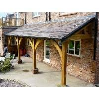 wooden lean to porches - Google Search