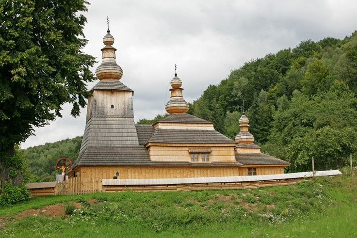 Wooden church Miroľa