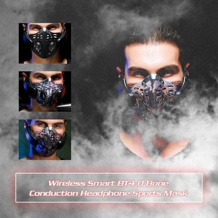 Wireless Bluetooth Bicycle Mask