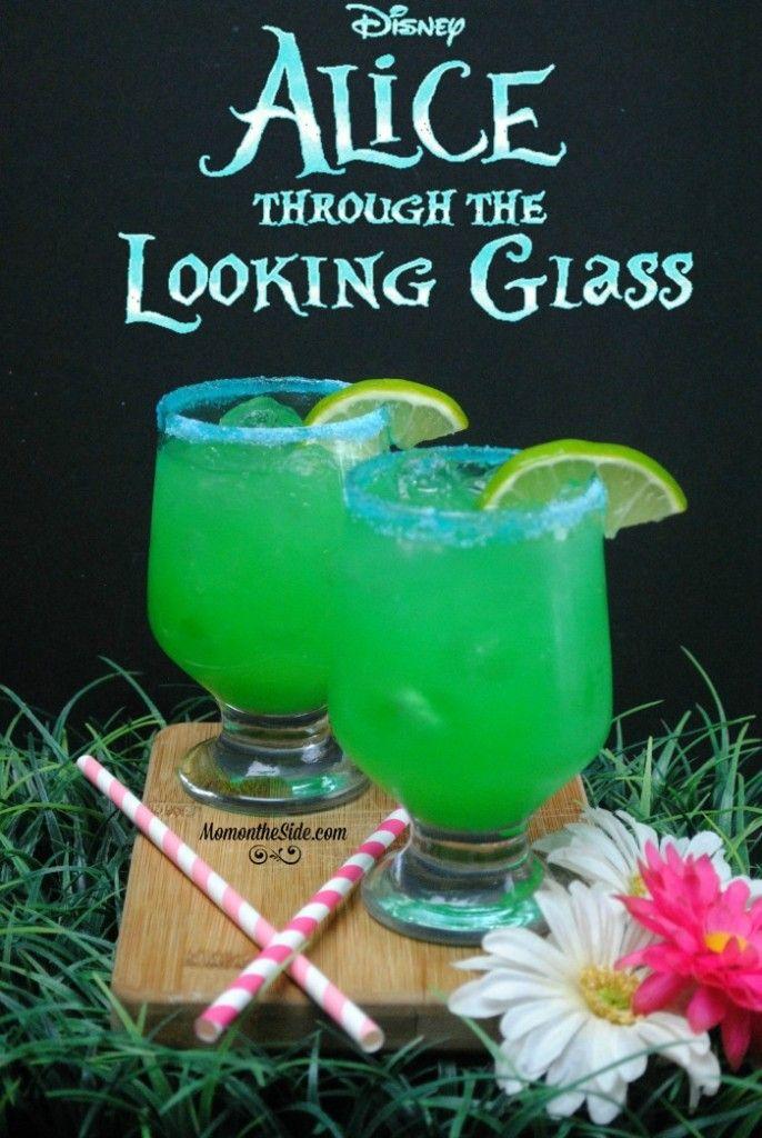 alice in wonderland themed drinks