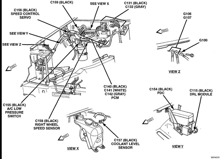 cherokee xj fuel filter location