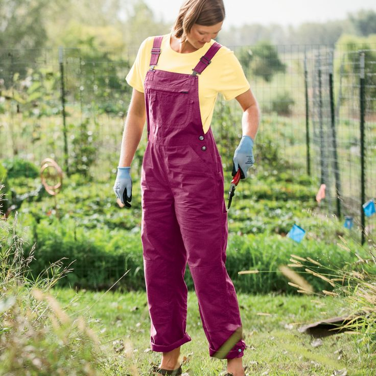 pink overalls yes i definitely need those womens heirloom gardening overalls with capri snaps
