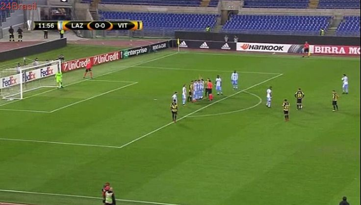 Lazio 0 - 1  Vitesse 23/11/2017 Brian Linssen Super Goal 13' Champions League HD Full Screen .