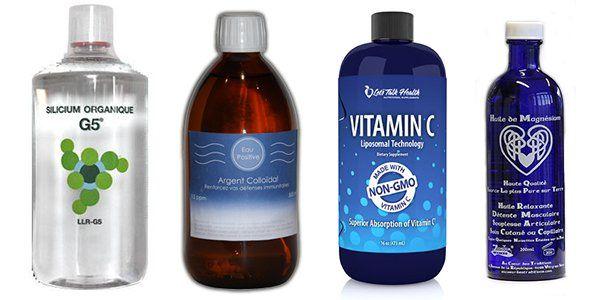 Qu Est Ce Que Le Silicium G5 L Argent Colloidal La Vitamine C Et L Huile De Magnesium Organic Supplements Vitamins Vitamin C