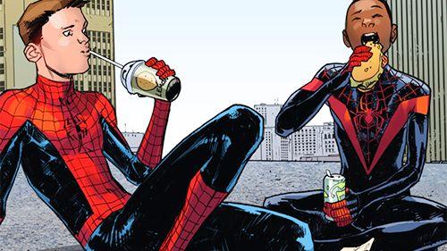 Spider-Man (Peter Parker & Miles Morales)