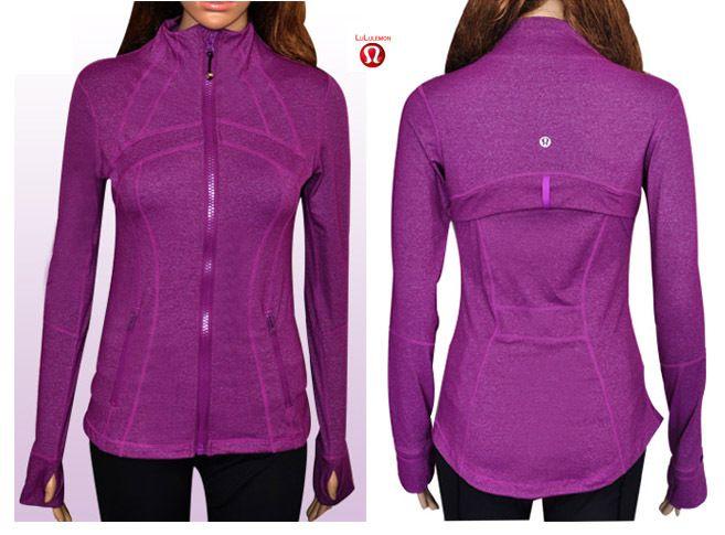 Cheap Lululemon Define Jacket Purple Sale Online