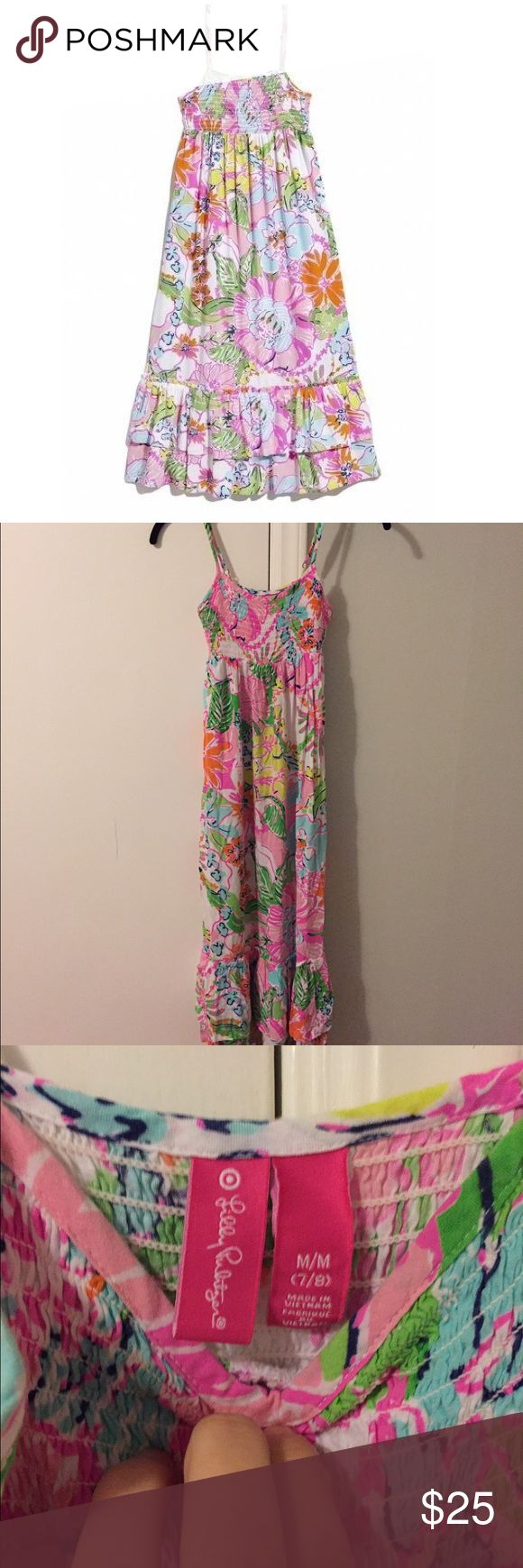 EUC Lilly for Target Kids Maxi Dress Just Darling! EUC, perfect for Easter, Spring, Summer, and beyond! Size 7 / 8. All offers considered :) Lilly Pulitzer Dresses Casual