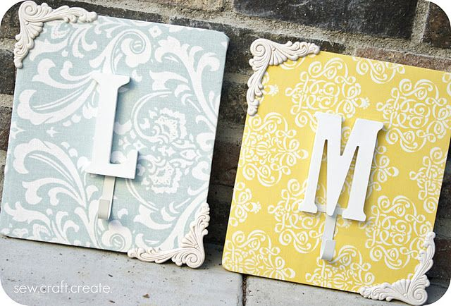 Shabby Chic Wall Hooks - tutorial  (for the girls room?)