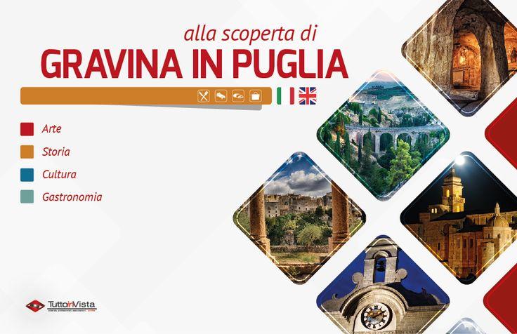 Una nuova guida turistica della città di Gravina in Puglia, arte, storia, cultura e gastronomia. La guida la trovi da...