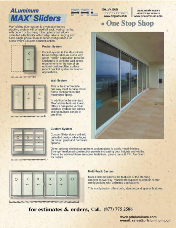 57 Best Custom Aluminum Doors Images On Pinterest