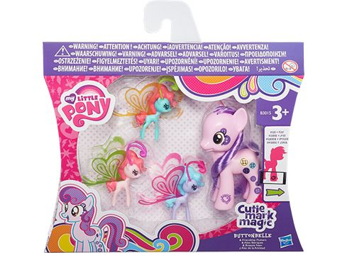 MY LITTLE PONY Friendship Charm Wings -poni Buttonbelle