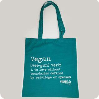 Vegan tote bag   #vegan