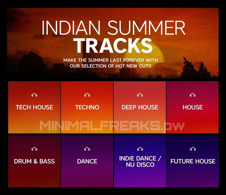 Beatport Indian Summer Tracks September 2016 MFSW31 » Minimal Freaks