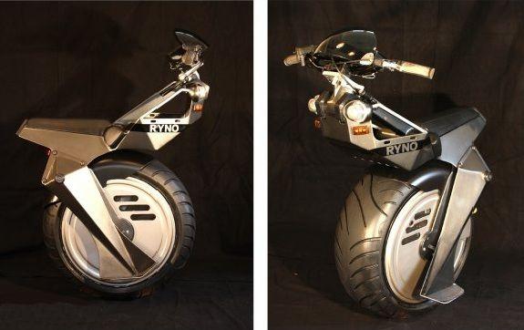 Electric Mono Wheel Bike New Engineering Pinterest