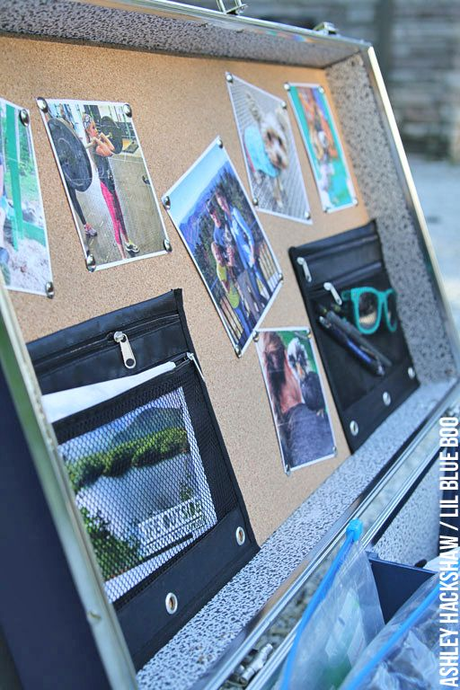DIY Camp Trunk Organizer - How to customize and organize an epic summer camp trunk! Summer camp trunk and footlocker decorating ideas.