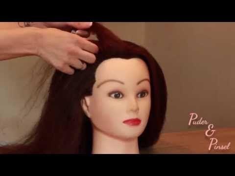 Haare drehen anleitung