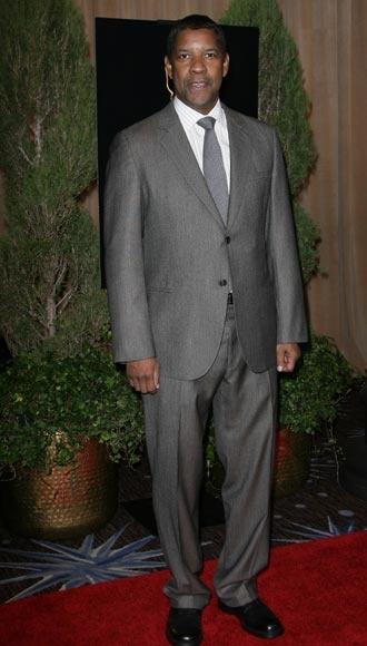 Denzel Washington en el almuerzo de los nominados a los Oscar 2013 #actores…