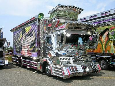"""""""Deco-Tora"""" Japanese Decoration Truck- I find this way too funny!"""