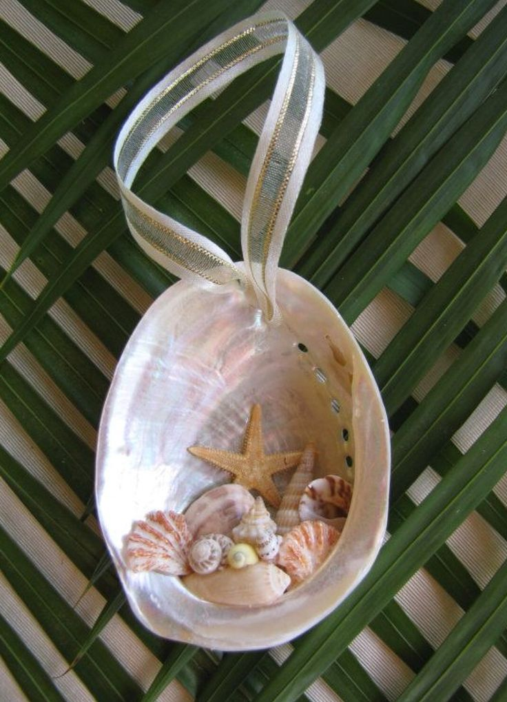 Abalone Shell Ornament