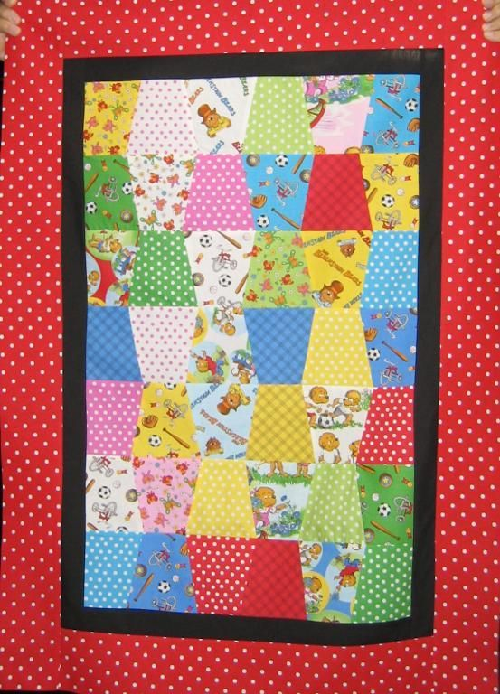 Quilt with Welcome to Bear Country fabrics
