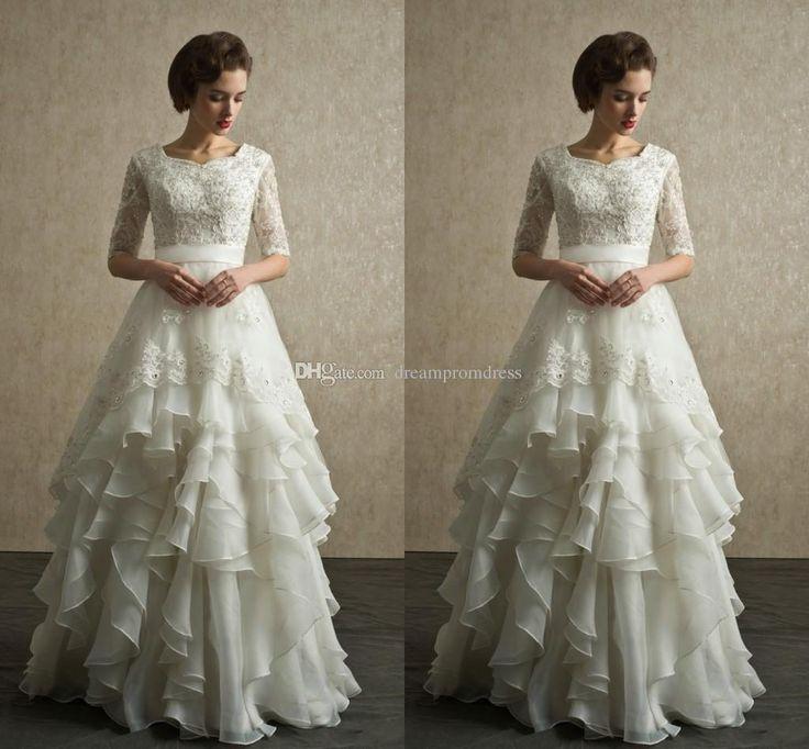Modest Wedding Gowns: 25+ Best Ideas About Modest Wedding Gowns On Pinterest