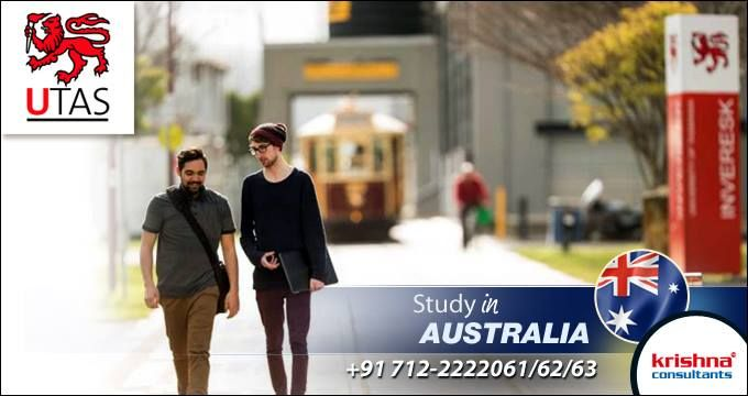 Spot Assessment by University of Tasmania, #Australia for July 2017 and Feb 2018 Intakes at Krishna Consultants #Nagpur!!  Date: 20th April 2017 Time: 2.00 pm to 5.00 pm  Benefits:   - SSVF Assessment Level 1 University - 5 Bonus Points for Regional University - Good Part Time job opportunities - State Sponsorship available - Affordable tuition fees   Visit us: http://events.studies-overseas.com/Events/EventRegistration?event=kkYFCb1J3xA%3D