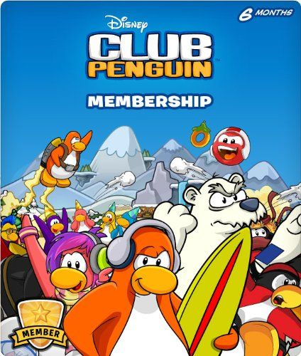 Disney Club Penguin 6 Month Membership Code – Amazon Exclusive « Game Searches