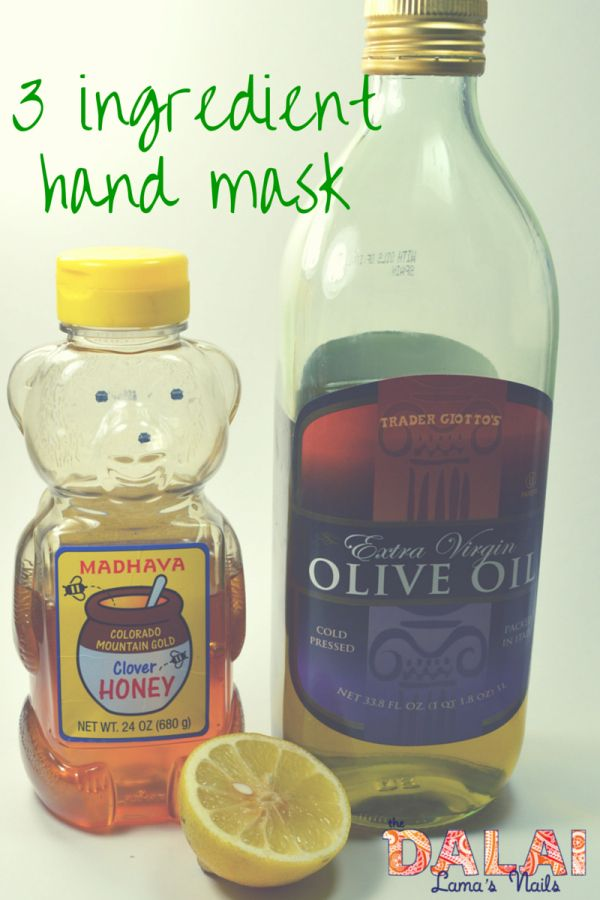 Is your skin dry and in need of some pampering? Try this DIY simple 3 ingredient hand mask and soak up some moisture. It will make your manicures look better!
