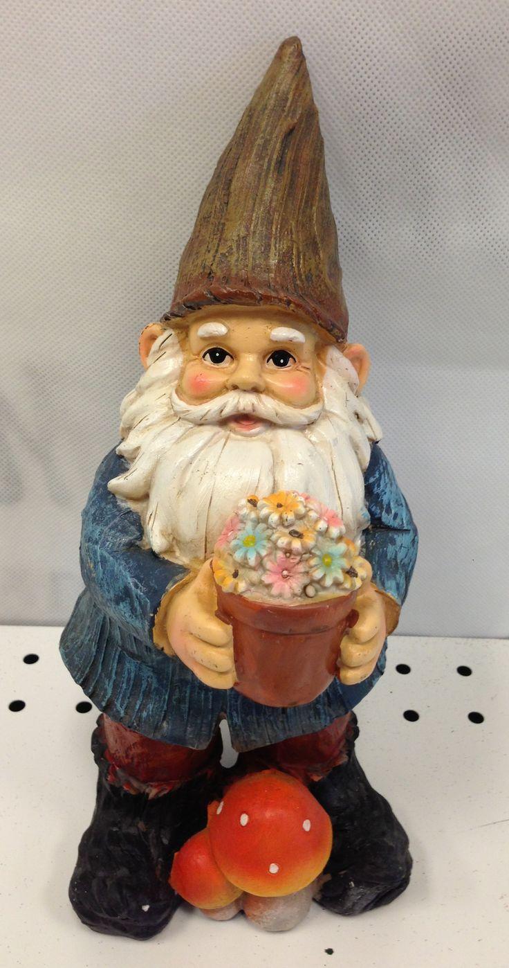 Gnome In Garden: 298 Best Garden Gnomes Images On Pinterest