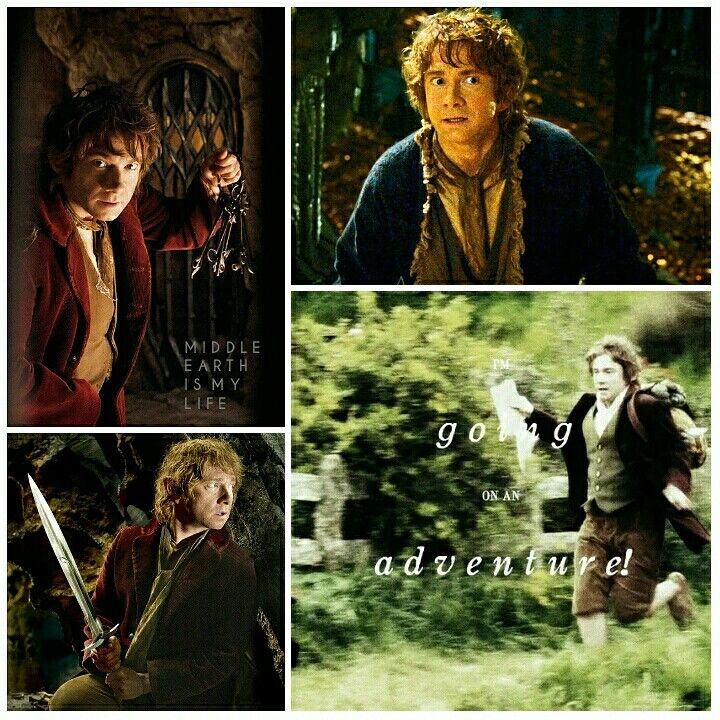 Going on an adventure! #middleearth #tolkien #jrrtolkien #quotes #bilbobaggins #martinfreeman #thehobbit #adventure #sword #keys #courage