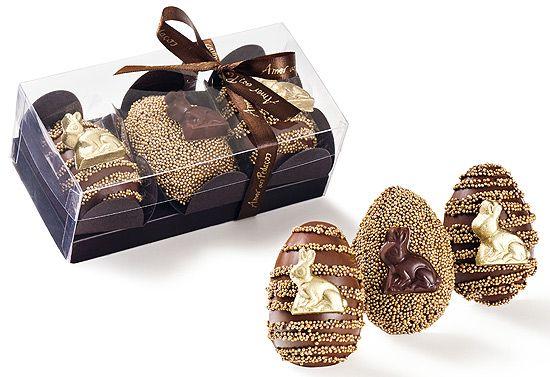 Amor aos Pedaços: trio de ovos de ouro
