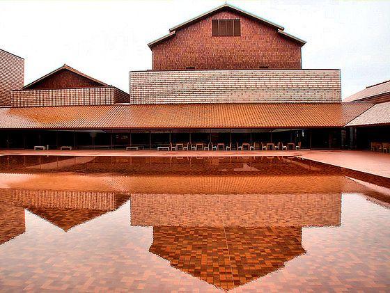 Shimane Arts center by Hiroshi Naito - as all done by Naito I love it.