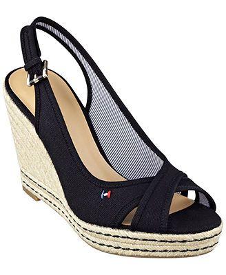 Tommy Hilfiger Women's Papina Espadrille Platform Sandals