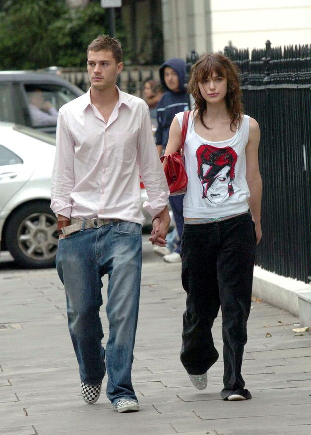 But can we just remember for a second that they used to date? | A Reminder That Jamie Dornan And Keira Knightley Were The Perfect '00s Couple