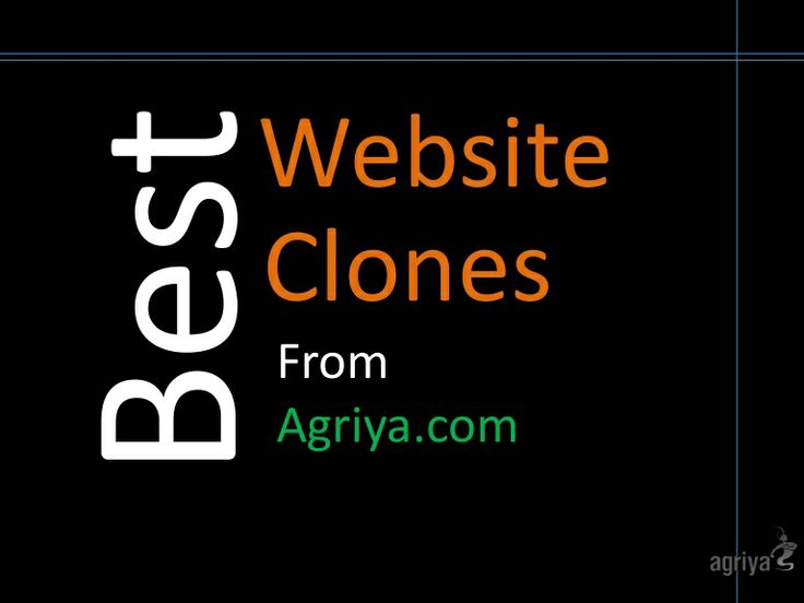 Best Website Clones of Agriya