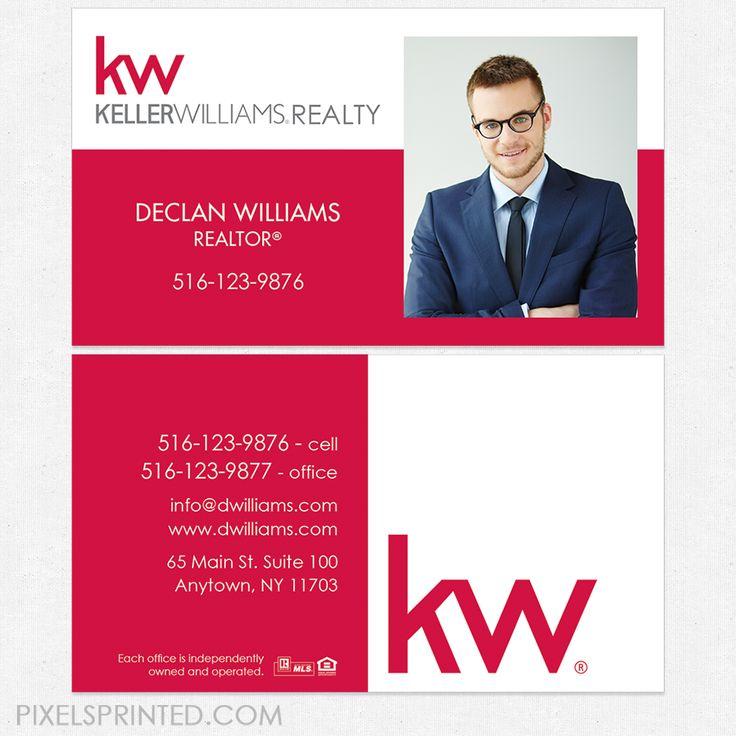 25+ bästa Keller williams business cards idéerna på Pinterest