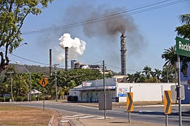 Sarina, Queensland (iii).jpg  Sarina is a town in north Queensland, Australia. It is 34 kilometres (21 mi) south of the city of Mackay, and approximately 300 kilometres (190 mi) north of the city of Rockhampton. At the 2006 census, Sarina had a population of 3,285.[1]    #Sarina #sugar cane producer #north queensland
