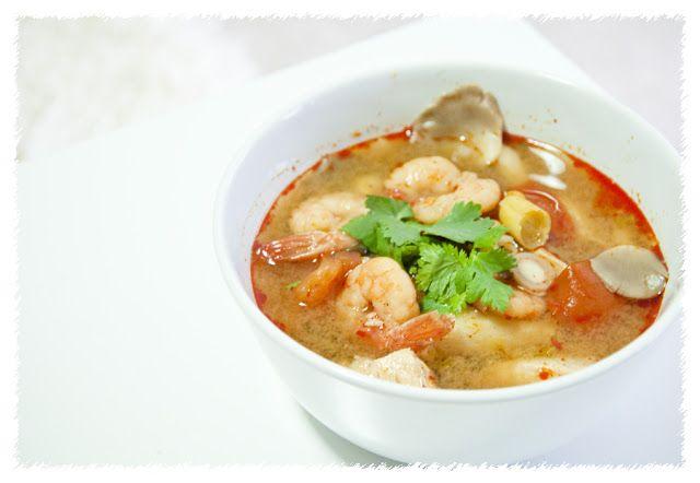 Tom Yum Guang (Thai Tom Yum Soup)